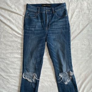 2 FOR $20 EXPRESS JEANS - ANKLE HIGH RISE